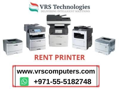 Rent Printer Service In Dubai, UAE - Img 1