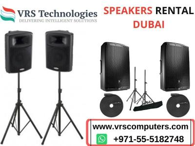 Are you Searching for Speakers Rental Dubai - Img 1